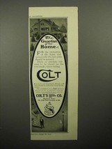 1908 Colt Gun Ad - The Guardian of the Home - $14.99