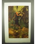 1908 Illustration by Howard Pyle - Edric the Singer - $14.99