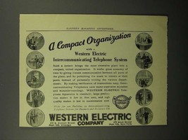 1908 Western Electric Telephone Ad - Compact - $14.99