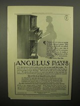 1908 Angelus Player Piano Ad - Sooner or Later - $14.99