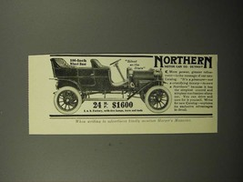 1908 Northern Motor Car Ad - Silent as the Stars - $14.99