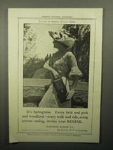 1913 Kodak Camera Ad - It's Springtime - $14.99