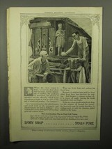 1913 Ivory Soap Ad - When the Circus Comes to Town - $14.99