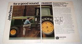 1973 John Deere 4430 Tractor Ad - Good Sound Reason - $14.99