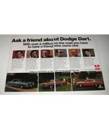 1974 Dodge Dart Swinger, Custom, Sport Convertible Ad - $14.99