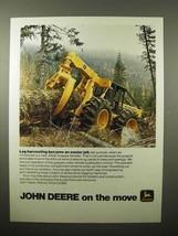 1975 John Deere JD640 Grapple Skidder Ad - Log - $14.99