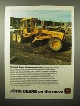 1975 John Deere 570-A Grader Ad - Conestoga - $14.99