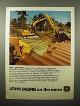1975 John Deere JD690-B Excavator Ad - Up 22 Percent - $14.99