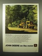 1975 John Deere JD770 Motor Grader Ad - 700,000 miles - $14.99