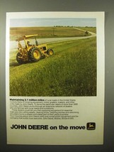 1975 John Deere Tractor Ad - Maintaining Million Miles - $14.99
