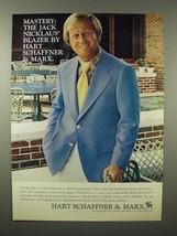 1975 Hart Schaffner & Marx Jack Nicklaus Blazer Ad! - $14.99
