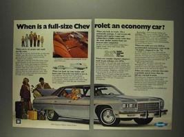1977 Chevrolet Caprice Classic Sport Sedan Ad - $14.99