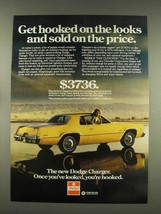1976 Dodge Charger Car Ad - Get Hooked on Looks - $14.99