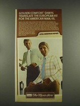 1976 Sears Golden Comfort Shirts Ad - Tom Seaver - $14.99