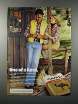 1978 Camel Cigarette Ad - One of a Kind - Cabin - $14.99
