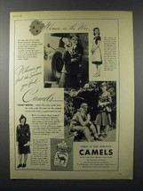 1942 WWII Camel Cigarette Ad - Women in the War - $14.99