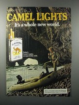 1984 Camel Lights Cigarette Ad - Whole New World - $14.99
