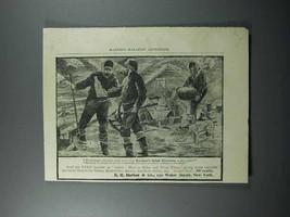 1897 Durkee's Salad Dressing Ad - The Klondike - $14.99