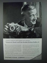 1959 Kodak Retina Reflex S Camera Ad - Vannevar Bush - $14.99