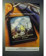 1976 John Player Special Cigarette Ad - A Reflection - $14.99