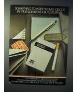 1980 Lambert & Butler King Size Cigarette Ad - $14.99