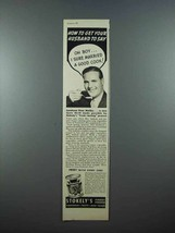 1939 Stokely's Peas Ad - Get Your Husband To Say - $14.99