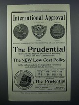 1908 Prudential Insurance Ad - International Approval - $14.99