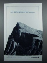 1992 Prudential Insurance Ad - Remains Rock Solid - $14.99