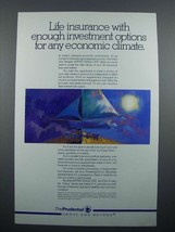 1989 Prudential Life Insurance Ad - Any Climate - $14.99