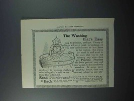 1897 Pearline Soap Ad - The Washing That's Easy - $14.99