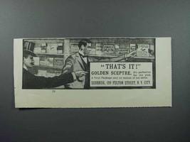 1897 Surbrug Golden Sceptre Pipe Tobacco Ad - $14.99