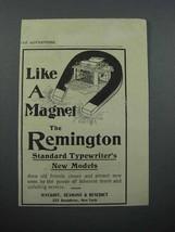 1897 Remington Standard Typewriter Ad - Magnet - $14.99