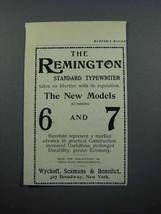 1897 Remington Standard Typewriter Ad - Takes no Liberties - $14.99