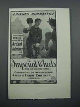 1897 Imperial Bicycle Ad - A Passing Acquaintance - $14.99