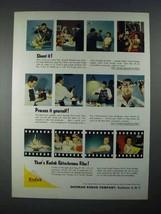 1956 Kodak Extachrome Film Ad - Shoot It! - $14.99