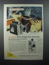 1959 Kodak Cine Automatic Turret Camera Ad! - $14.99