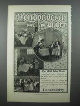 1899 Londonderry Lithia Water Ad - Ideal Table Water - $14.99