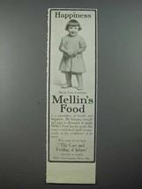 1913 Mellin's Baby Food Ad - Harold Owen Eshelman - $14.99