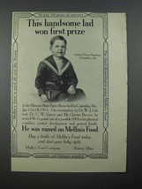1913 Mellin's Baby Food Ad - Robert Oliver Pearman - $14.99