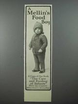 1913 Mellin's Baby Food Ad - Mellin's Food Boy - $14.99