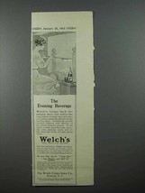 1913 Welch's Grape Juice Ad - Evening Beverage - $14.99