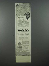 1913 Welch's Grape Juice Ad - The Party Beverage - $14.99