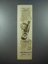 1937 Stokely's Catsup Ad - There's no Other Like - $14.99