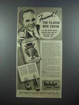 1939 Stokely's Tomato Juice Ad - Flavor Men Favor - $14.99