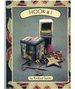 Rug Hooking Hook and I Kindred Spirits Pattern Book - $8.99