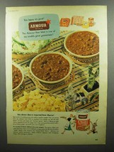 1952 Armour Chili Con Carne Ad - It's Good - $14.99