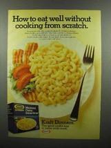 1977 Kraft Macaroni & Cheese Deluxe Dinner Ad - $14.99