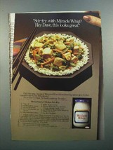 1986 Kraft Miracle Whip Ad - Quick Chicken Stir-Fry - $14.99
