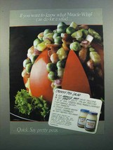 1988 Kraft Miracle Whip Ad - Crunchy Pea Salad - $14.99