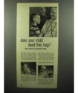 1951 Bosco Chocolate Syrup Ad - Does Child Need Help - $14.99